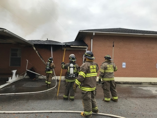 Inmate Firefighters Assist with Blaze